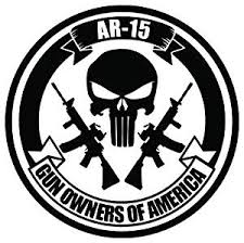 Buy Gun Owners America Ar 15 Punisher Skull Vinyl Decal Sticker For Vehicle Car Truck Window Bumper Wall Decor 6 Inch 15 Cm Tall Matte White Color In Cheap Price On Alibaba Com