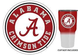Alabama Crimson Tide Decal Sticker For Yeti Rambler Tumbler Car Truck Window For Sale Online Ebay