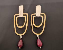 es 131 es 131 earrings with stones