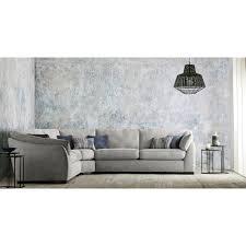 casa halley corner fabric sofa large
