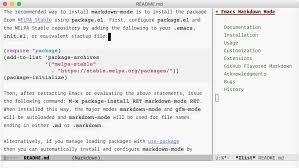 read guide to markdown mode for emacs