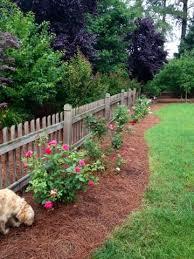 Rose Garden Along Back Fence Just Like This Beautiful Gardens Landscape Garden Outdoor Gardens
