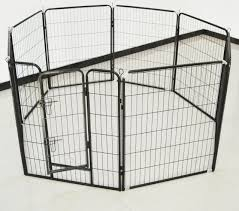 Dog Kennel Dog Run Playpen Portable Exercise Cage Fence Enclosure 8 Panels 120cm X 120cm Buy Dog Kennel Playpen Portable Decorative Garden Fence Panels Product On Alibaba Com
