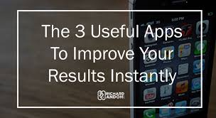 the 3 useful apps to improve your