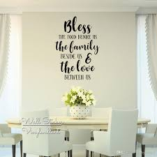 Bless The Food Quote Wall Sticker Quotes Stickers Muraux Wall Stickers Home Decor Living Room Dining Room Lettering Wall Decal Q284 Vinyl Wall Clings Vinyl Wall Decal From Kathyatiwall 13 18 Dhgate Com