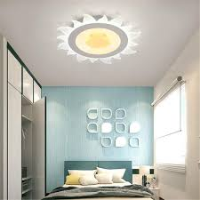 Amazon Com Runnup Sun Flower Ceiling Fixture Led Ceiling Light Acrylic Modern Dimmable Children S Lighting For Boys And Grils Bedroom Kids Room Study Room White 20 5inch Home Improvement