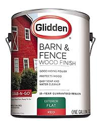 Latex Paint Barn And Fence 4099f 01 Flat Exterior 1 Gal Red Amazon Com Industrial Scientific