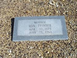 Ida Butler Tedder (1875-1961) - Find A Grave Memorial