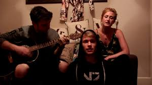 Greg and Abbie cover - Perfect Strangers (Acoustic) - YouTube