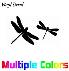 Dragonfly Decal For Car Truck Laptop Window Cute Stickers Ebay