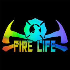 Fire Life Fireman Firefighter Vinyl Sticker Car Window Bumper Removable Decal Ebay