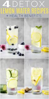 slimming lemon detox water 4 easy