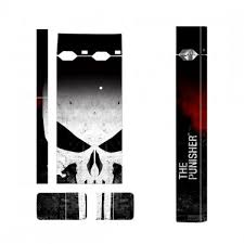 Punisher Skin Decal For Juul