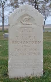 Ada Richardson (1900-1900) - Find A Grave Memorial