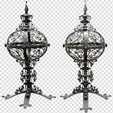 Wrought Iron Gatepost Fence Finial Gate Transparent Background Png Clipart Hiclipart
