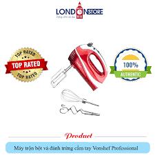 Máy trộn bột và đánh trứng cầm tay Vonshef Professional – London store