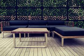 Garden Screens Installed Contemporary Landscape London By Screen With Envy