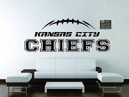 Chiefs Wall Mural Vinyl Decal Sticker Decor American Football Team Kansas City Ebay