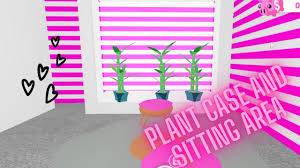 Cute Plant Case and Sitting area build step by step!(Adopt me ...