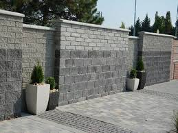 32 Awesome Decorative Concrete Block Wall House The Culture Fence Design Concrete Fence Wall Backyard Fences