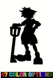 Vinyl Decal Truck Car Sticker Laptop Kingdom Hearts Sora W Keyblade Ebay