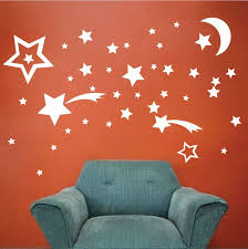 Bedroom Stars Wall Decals Outer Space Wall Decal Murals Stars Wall Decor Space Wall Decals Star Wall Decals