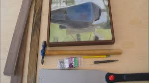a simple way to frame your art work
