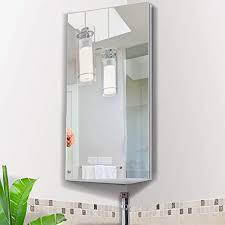 wall mounted bathroom corner mirror