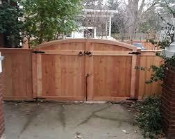 Fencing Wood Fence Large Wood Gate