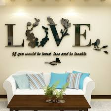 Bedroom Accessories For Women 3d Love Romantic Wall Sticker Art Acrylic Decals For Sale Online Ebay
