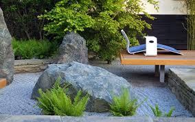 modern rock garden design london