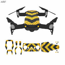 Mavic Air Sticker Body Remote Control Battery Skin Decals Sticker For Dji Mavic Air Drone Accessories Prop Protector Aliexpress