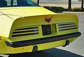 1973 1978 Firebird Rear Center Spoiler Bird Decal 7 2