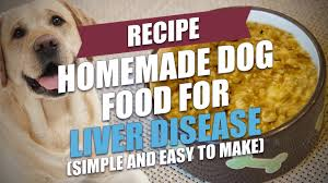 homemade dog food for liver disease