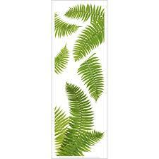 Lovely Fern Leaves Window Sticker
