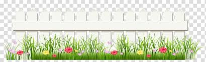 Picket Fence Chain Link Fencing Flower Fence Transparent Background Png Clipart Hiclipart