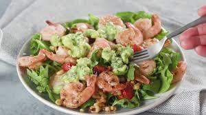 Lemon-Garlic Shrimp Salad Recipe ...
