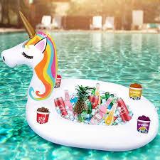 floating unicorn coolers inflatable