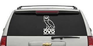 Drake Ovo Owl Wall Decal Car Decal Vinyl Owl Wall Decals Car Decals Vinyl Owl Wall