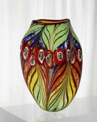 handcrafted vase decor neiman marcus
