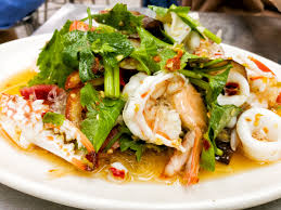 Tasty Thai Squid (Calamari) Salad Recipe