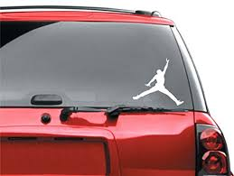 Air Jordan Car Vinyl Sticker Buy Online In India Discount Decals Llc Products In India See Prices Reviews And Free Delivery Over 4 000 Desertcart