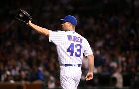 After pitching 29 games for Cubs, Adam Warren watched World Series ...