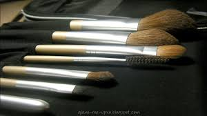 review demo artistry makeup brushes