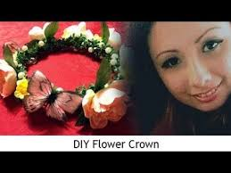 makeup tutorial 2 diy flowercrown