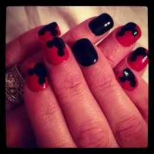 Pin by Pinterest Happy on My Work | Fancy nails designs, Mickey nails, Mickey  mouse nail design