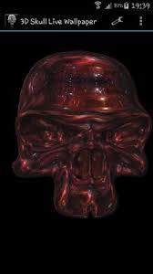skull live wallpaper 3d skull