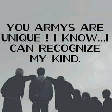 real army on btsquotes bts army unique love yepo
