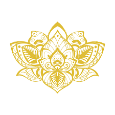 Shop Lotus Flower Vinyl Sticker Bohemian Wall Decals Overstock 31672248