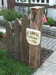 90 Fence Post Ideas Ideas In 2020 Wood Crafts Solar Light Crafts Landscape Timbers